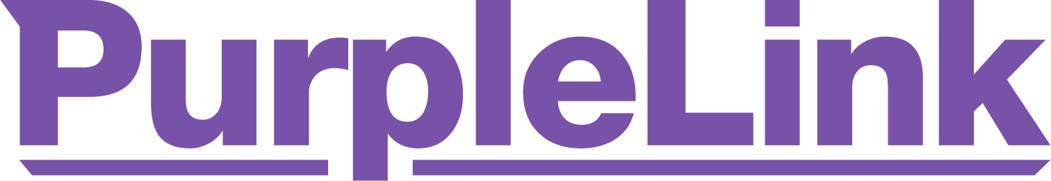 PurpleLink web design logo