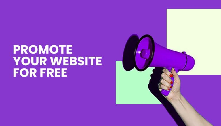 promote your website for free banner